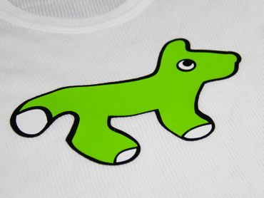 Infant Tshirt T-Shirt T Kalle Fux Longsleeve T-Shirt Fox Green 86 – Bild 2