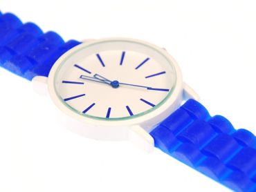 Watch XL Unisex Men´s Sports Watch Gents Miniblings 40mm Ladies Watch Blue – Bild 3