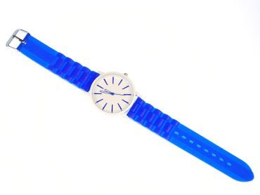 Watch XL Unisex Men´s Sports Watch Gents Miniblings 40mm Ladies Watch Blue – Bild 1