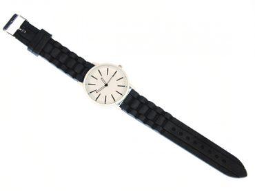 Armbanduhr XL Herrenuhr Sportuhr HAU Miniblings 40mm Damenarmbanduhr schwarz – Bild 3