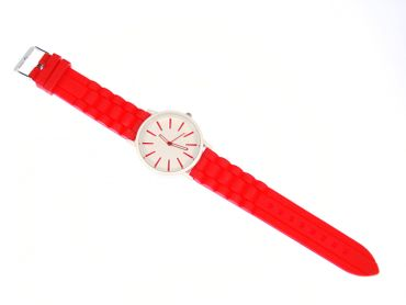 Watch XL Unisex Men´s Watch Sports Watch Gents Miniblings 40mm Ladies Watch Red – Bild 1