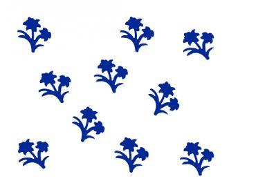 10x Bügelbild Bügelbilder Aufnäher Patch Miniblings 28mm FLOCK Blume Pflanze – Bild 7