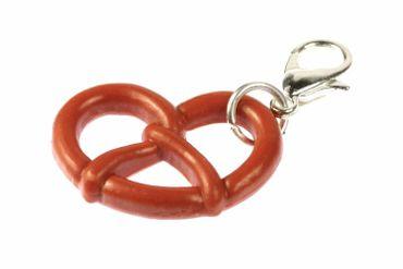 Pretzel Oktoberfest Charm Zipper Pull Pendant For Bracelet  Wristlet Miniblings – Bild 1