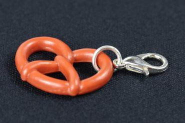 Pretzel Oktoberfest Charm Zipper Pull Pendant For Bracelet  Wristlet Miniblings – Bild 2