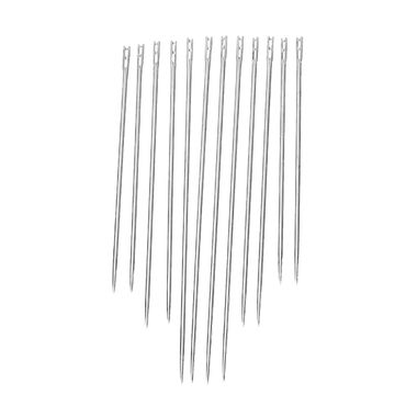 12X Needles Needle Open Eyelet Easy Threading Miniblings Sewing Fabric – Bild 2