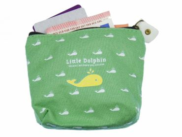 Whale Purse Money Bag Purse Bag Miniblings Sea Fish Animal Green – Bild 3
