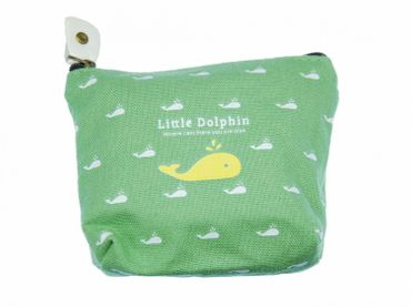 Whale Purse Money Bag Purse Bag Miniblings Sea Fish Animal Green – Bild 4