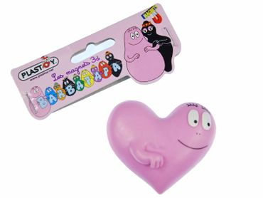 Barbapapa Barbapapas Magnet Fridge Magnets Fridge Refrigerator Heart Love Marriage Pink Friendship – Bild 3