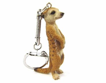 Meerkats Key Ring Miniblings Necklace Key Ring Prairie Dog 6cm – Bild 2