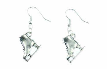 Ice Skates Earrings Miniblings Ice Skating Winter Ice Princess Silver – Bild 2
