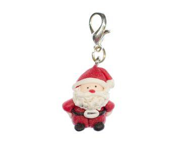 Santa Claus Charm Miniblings Christmas Santa Claus Santa Claus Polymer Clay – Bild 1