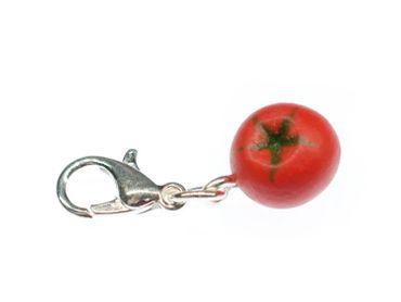 Tomato Charm For Bracelet Dangle Charms Miniblings Tomato Vegetable Fruit – Bild 1