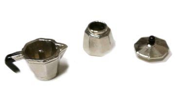 Dollhouse Accessories Percolater Handmade Coffee Pot Dollhouse Kitchen Espresso Italia – Bild 2