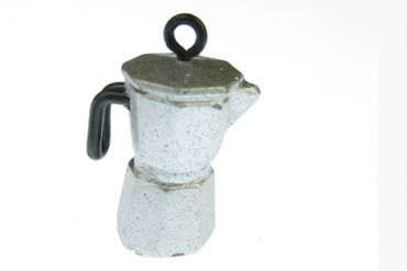 Dollhouse Accessories Percolater Handmade Coffee Pot Dollhouse Kitchen Espresso Italia – Bild 2