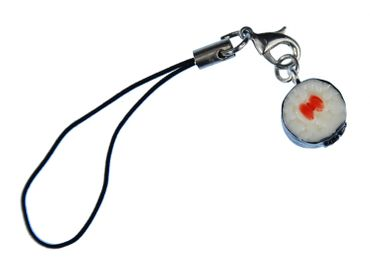 Sushi Mobile Phone Charm Miniblings Handy Jewellery Fish Japanese Food Sushi Maki – Bild 1