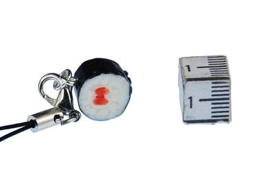 Sushi Mobile Phone Charm Miniblings Handy Jewellery Fish Japanese Food Sushi Maki – Bild 2