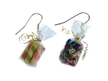 Candy Bag Earrings Miniblings Candy Colorful Bag Of Candy Mix – Bild 2