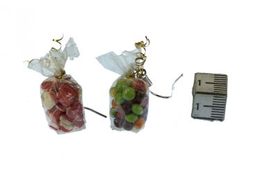 Candy Bag Earrings Miniblings Candy Colorful Bag Of Candy Mix – Bild 3