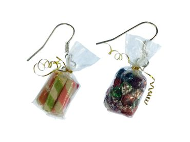 Candy Bag Earrings Miniblings Candy Colorful Bag Of Candy Mix – Bild 4