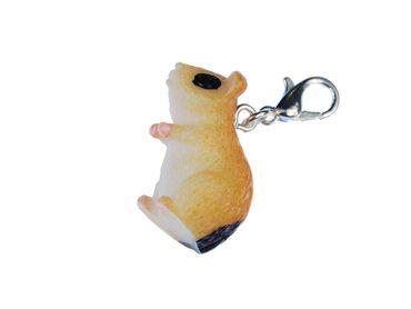 Hamster Charm For Bracelet  Wristlet Miniblings Pet Hamsters Spotted – Bild 2