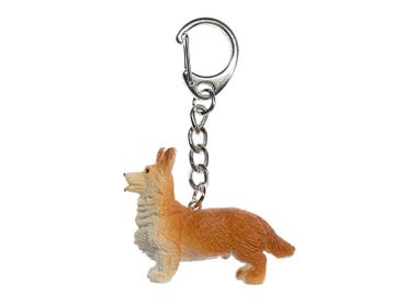 Corgi Dog Key NecklaceKey Ring Miniblings Keyring Welsh Corgy Pembroke Dog – Bild 1