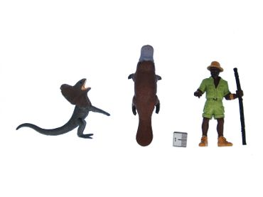 6X Safari Set Figure Figures Figuriness Animal Figure Figures Figuriness Miniblings Animals Australia – Bild 3