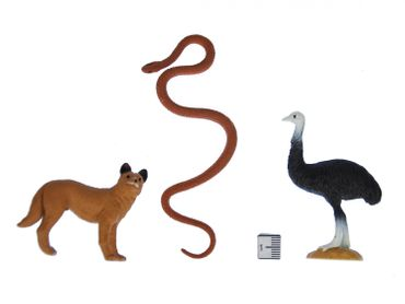 6X Safari Set Figure Figures Figuriness Animal Figure Figures Figuriness Miniblings Animals Australia – Bild 4