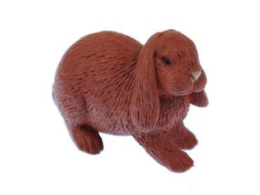 10X Rabbit Miniblings Toy Figures Figurines 4cm Ram Brown Bunny Rabbit Hare – Bild 2