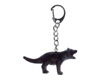 Tasmanian Devil Key NecklaceKey Ring Miniblings Key Ring Rubber – Bild 1