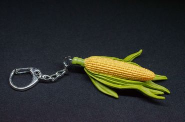 Corn On The Cob Key Chain Key Ring Pendant Key Ring Miniblings Garden Vegetables – Bild 3
