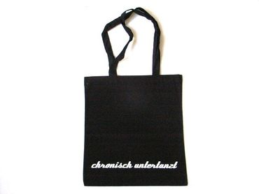 Cotton Carrier Bag Jute Bag Shopper Miniblings Chronisch Untertanzt Germany German – Bild 1