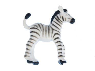 10X Zebra Miniblings Toy Figures Figurines African Zebras White Black – Bild 2