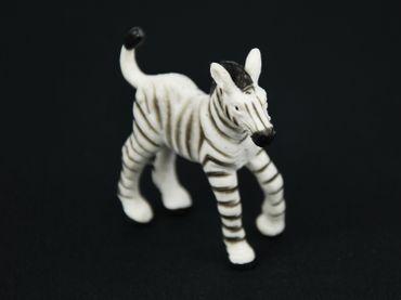 10X Zebra Miniblings Toy Figures Figurines African Zebras White Black – Bild 4