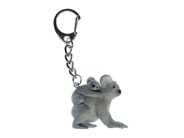 Koala Key NecklaceKey Ring Miniblings Bear Key Ring Australia Family Baby Child Children – Bild 1