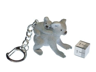 Koala Key NecklaceKey Ring Miniblings Bear Key Ring Australia Family Baby Child Children – Bild 2