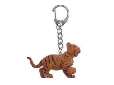 Tiger Baby Child Children Key Chain Key Ring Miniblings Necklace Key Ring Safari Tiger – Bild 1