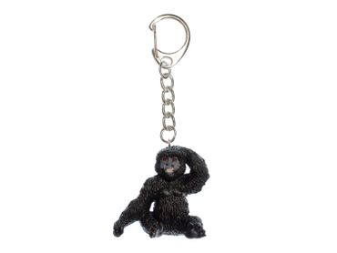 Gorilla Key NecklaceKey Ring Miniblings Necklace Key Ring Animal Jungle Monkey – Bild 1