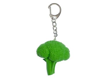 Broccoli Key NecklaceKey Ring Miniblings Pendant Food Keyring Garden Vegetables – Bild 1
