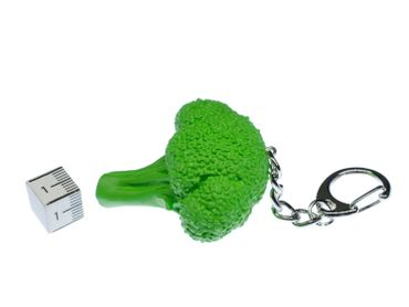 Broccoli Key Chain Key Ring Miniblings Pendant Food Keyring Garden Vegetables – Bild 2