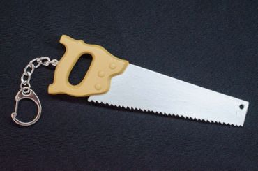 Handsaw Key Ring Miniblings Pendant Workshop Saw – Bild 3