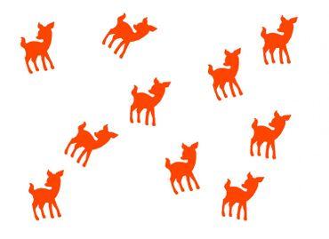 10X Patch Hotfix Iron On Motif Miniblings 22mm Glossy Gloss Deer Bambi Kitz – Bild 10