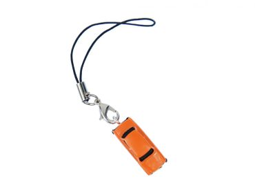 Trabi Trabant GDR East Germany Car Cult Retro Vintage Mobile Phone Charm Pendant Miniblings Model 1 160 Miniature Orange – Bild 1