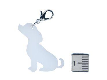 Baby Labrador Charm Anhänger Bettelarmband Miniblings Charms Hund Bester Weiß – Bild 2