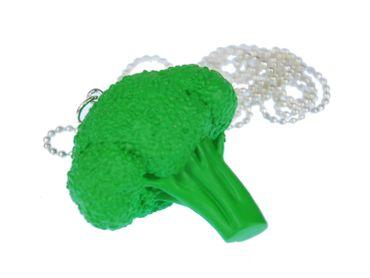 Broccoli Necklace Miniblings 80cm food vegetable landscape farm healthy – Bild 2