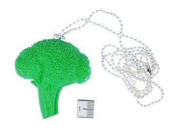 Brokkolikopf Kette Halskette Miniblings 80cm Brokkoli Gemüse Landschaft Acker – Bild 4