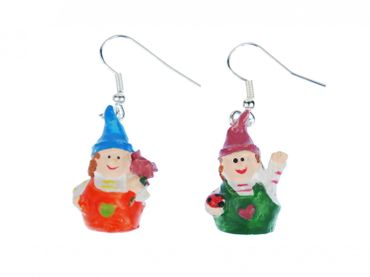 Gnome Trolls Earrings Miniblings Dwarf troll gnomes Forest Fantasy Myths Legends – Bild 3