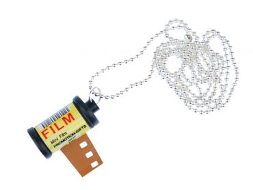 Photo Box Necklace Miniblings 80cm Photography movie Film Canister Pictures – Bild 1