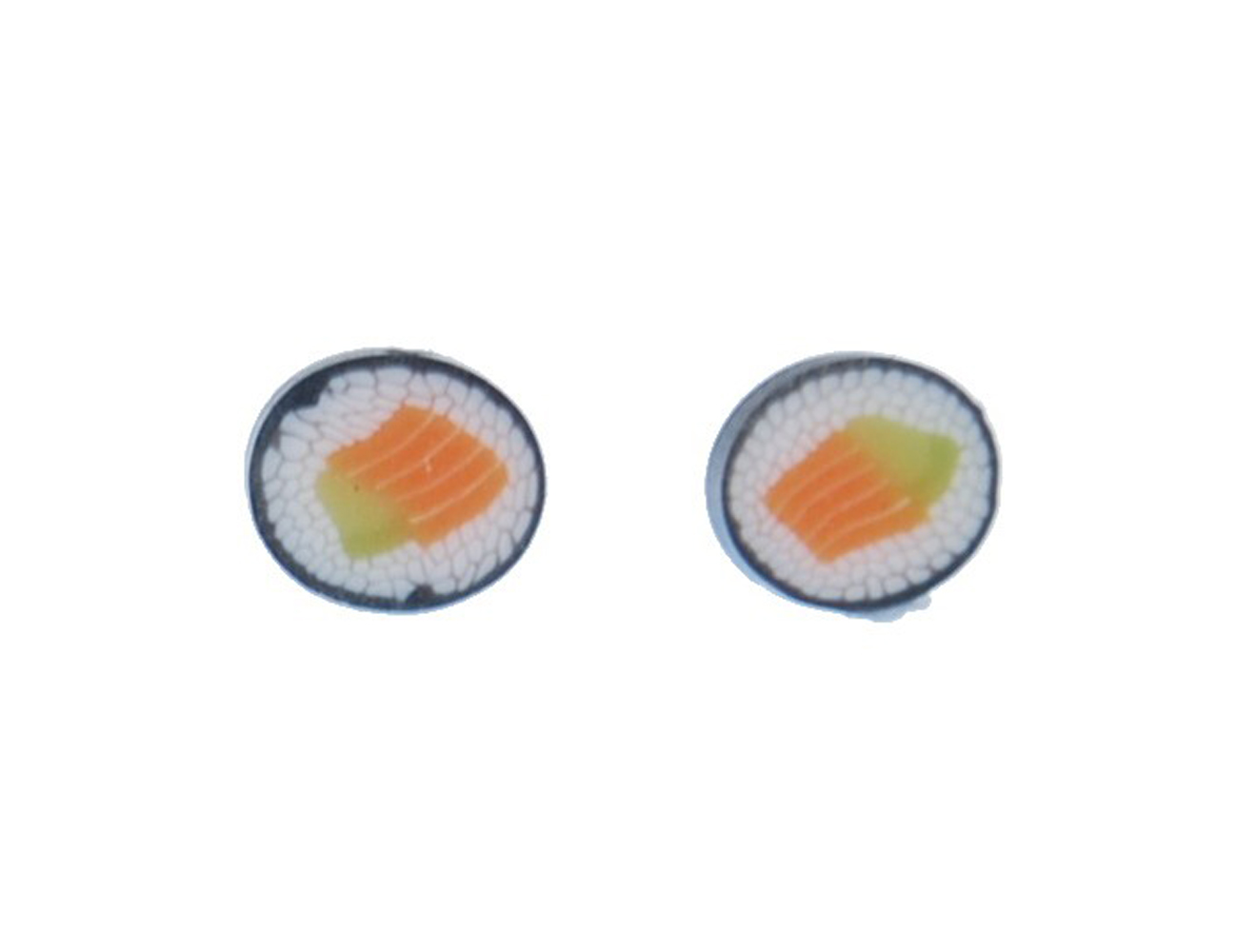 sushi ohrstecker stecker miniblings ohrringe essen japan. Black Bedroom Furniture Sets. Home Design Ideas