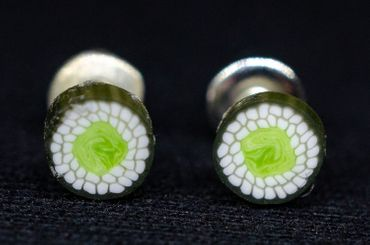 Sushi Earrings Ear Studs Earstuds Miniblings Japan Food Maki Fish Asia 5 – Bild 1