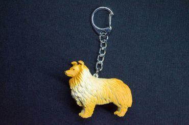 Langhaarcollie Schlüsselanhänger Miniblings Anhänger Schlüsselring Hund Hütehund – Bild 5